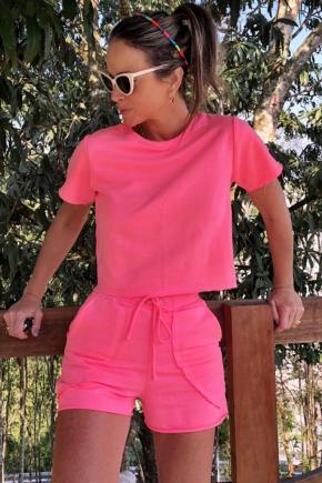 conjunto moletom feminino rosa prosa 7