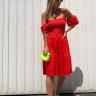 ros prosa vestido malha lastex vermelho 2