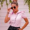rosa prosa camisa feminina rosa claro 3