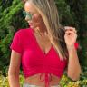 rosa prosa calca moletom blusa cropped pink 4