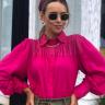 rosa prosa camisa manga longa pink 2
