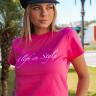 rosa prosa tshirt rosa minie e calca moletinho preta 1 copia