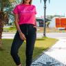 rosa prosa tshirt rosa minie e calca moletinho preta 4 copia